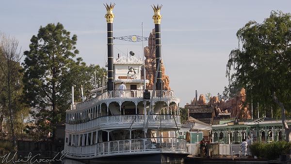 Disneyland Resort, Disneyland, Frontierland, Mark Twain