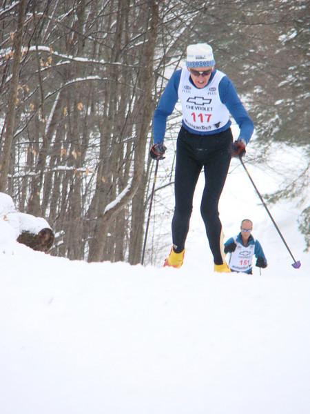 Go Team NordicSkiRacer! Go Bill Haefner!