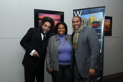 Tavis Smiley and Cornel West