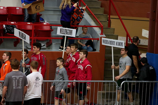 WHS Wrestling @ State 4A Tourney in Salina  022417