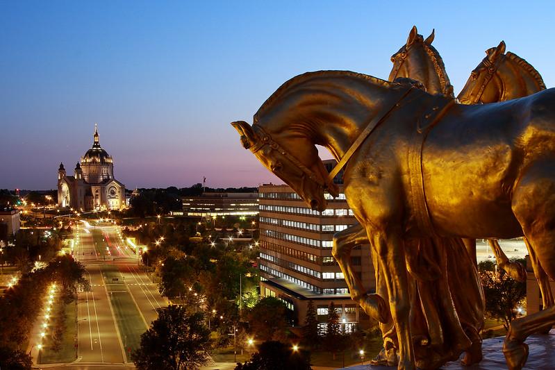 Minnesota State Capital; St. Paul