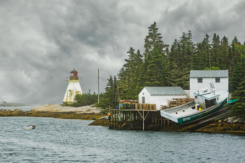 Indian Harbour Lighthouse, Nova Scotia
