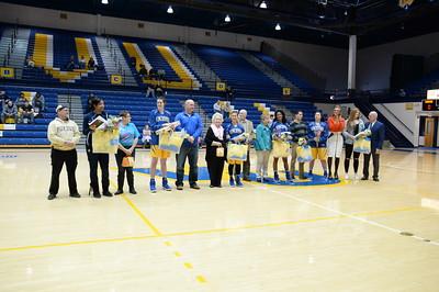 2017 Women's Basketball - Sophomore Night