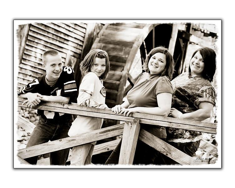 Durhams--Mom and Kids