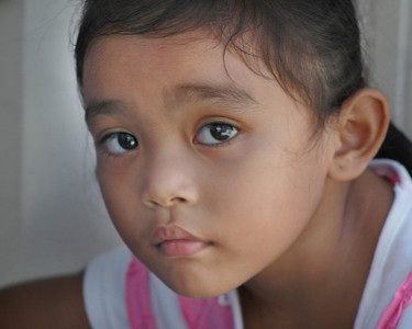 Philippine Children Close Up