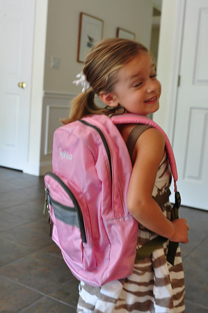 Fia's First Day at School
