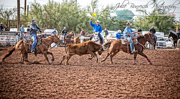 new years buckle roping