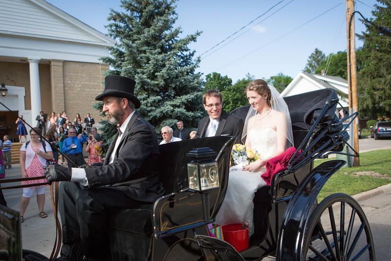 wedding ceremony at Old Stone Church in Rockton, Illinois. Wedding photographer - Ryan Davis Photography, Rockford, IL.