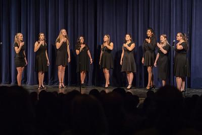 NNHS Show Choir-Howl & Shake (2018-10-28)-Girls Choir