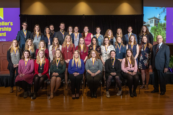 Chancellor's Leadership Awards December 2018