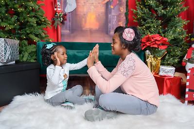 Destynee & Mikayla Christmas 2020 - G. Sutton