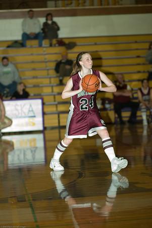 Onalaska High School vs. Montesano High School, ladies jv, February 4, 2008