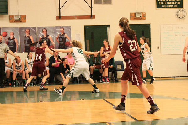 Bonny Eagle Lady Scots vs Gorham 02-04-2014 SENIOR NIGHT GALLERY TWO OF TWO