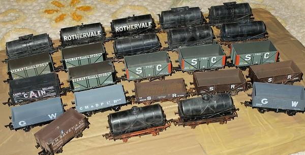''SOMEWHERE IN ENGLAND'' model Railway