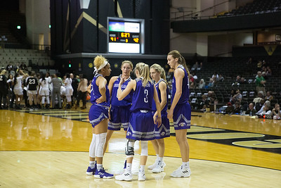 UNA Women's Basketball @ Vanderbilt