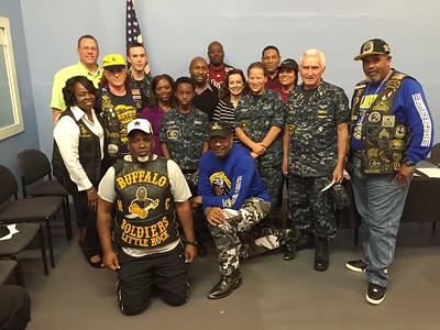 U.S. Naval Sea Cadets Visit Little Rock  BSMC