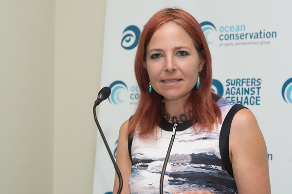 Prof Alice Roberts Surfers Agains Sewage HOC June 5th 2019