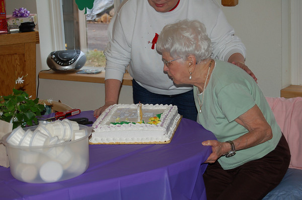 Grandma Haff's 95th Birthday Party 2010