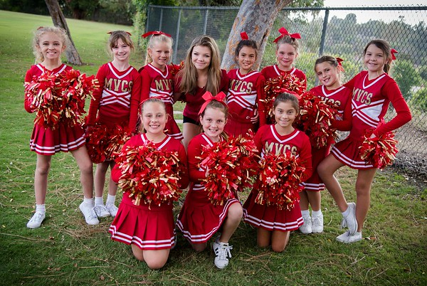 Games MVCS Elementary Cheer and Football 2017
