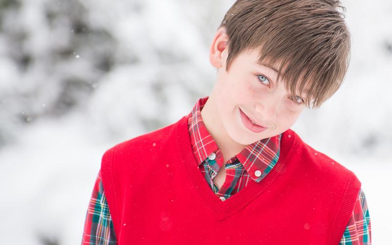 Cole at Christmas
