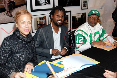 """New York, NY - January 23:  The book signing for """"Giant Steps to Change the World"""", New York, USA"""