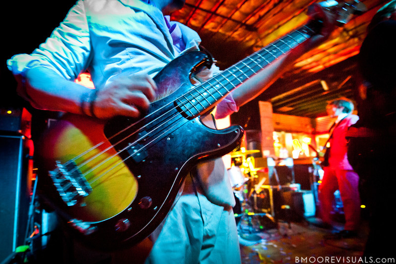 Tim Nordwind of OK Go performs on May 14, 2010 at Crowbar in Ybor City, Tampa, Florida