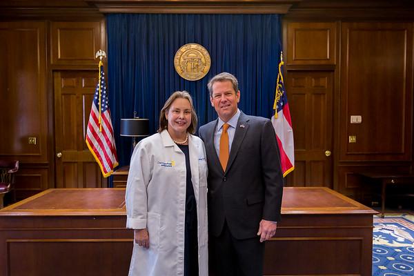 Photos with Governor Kemp
