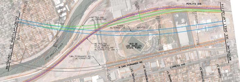 2011, Taylor Yard Tunnel Diagram