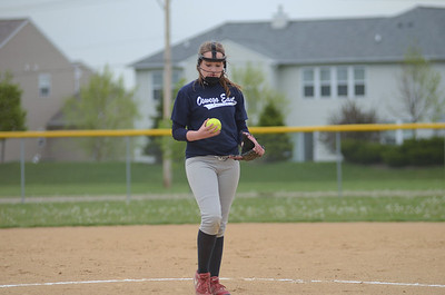 Oswego East girls freshman softball 2012