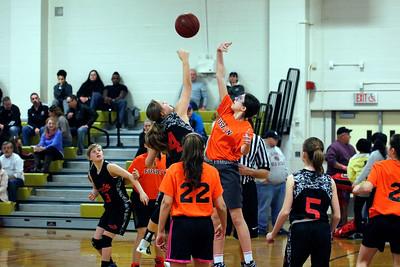 AAU Basketball D2 vs D3 Saturday 4/1/17