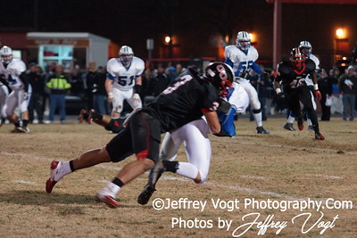 11-18-2011 Quince Orchard HS vs Churchill HS Varsity Football Regional Finals, Photos by Jeffrey Vogt Photography