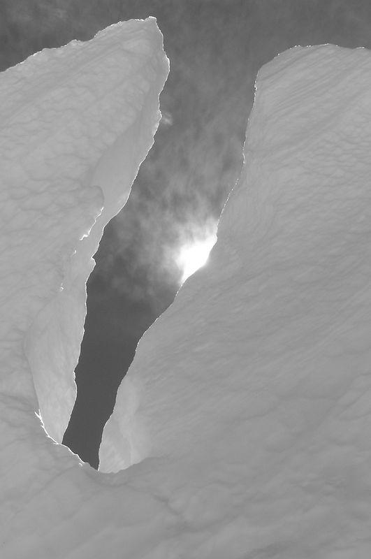 Some Ice on the Anna Glacier, Mt Elie De Beaumont.