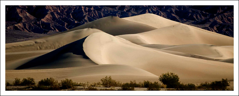Death Valley / Sand Dunes, Mesquite Flats, Stovepipe Wells - 2007