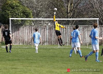 Aug 12 - Football - 1st IX HVHS v Wgtn Coll