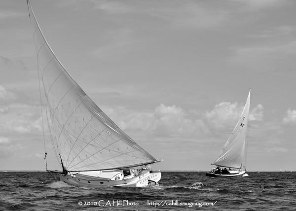 2010 Catboat Rendezvous - Padanaram July 31