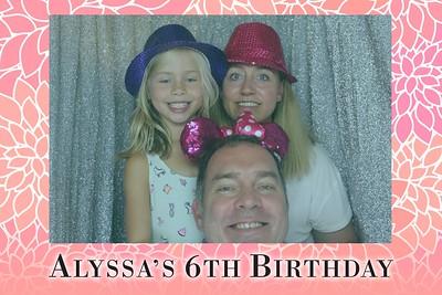 Alyssa's 6th Birthday - 15th Oct 2016