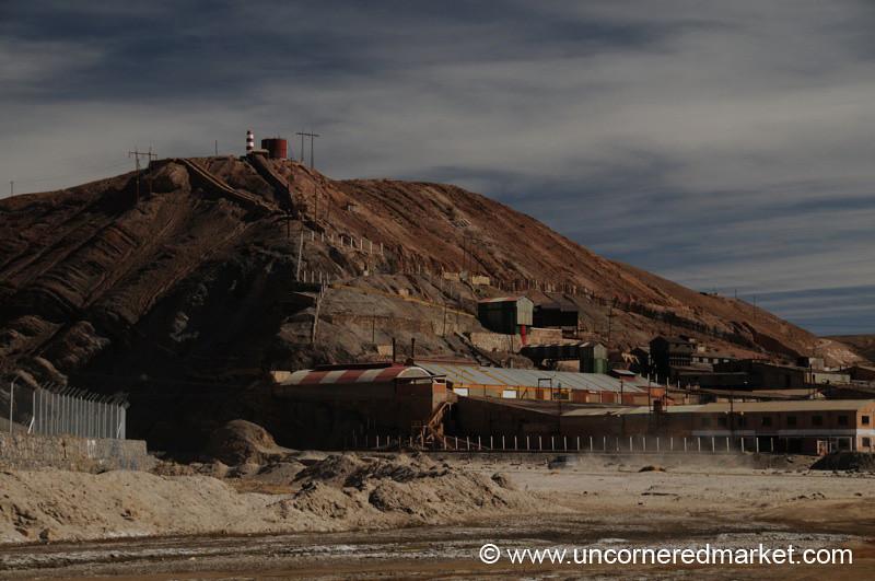 Mining Landscape - Salar Tour, Bolivia