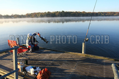 Fishing at Montgomery County State Lake
