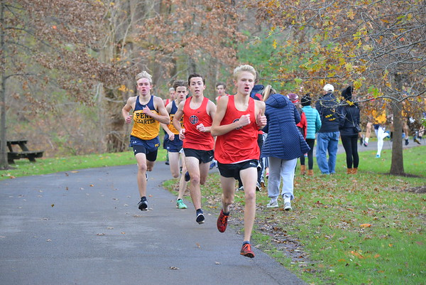 Boys Cross Country: GA vs PC - Gallery I