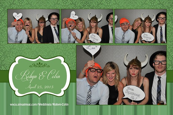 Colin & Robyn Wedding Photobooth