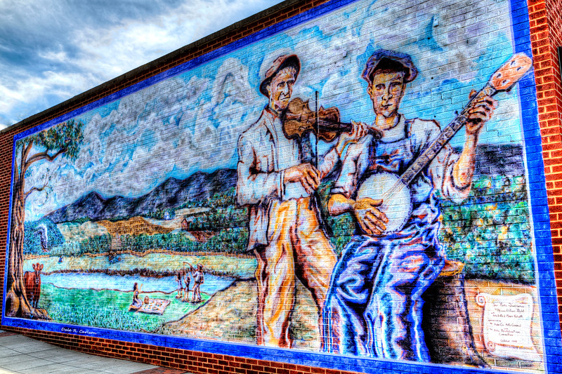 Banjo Mural