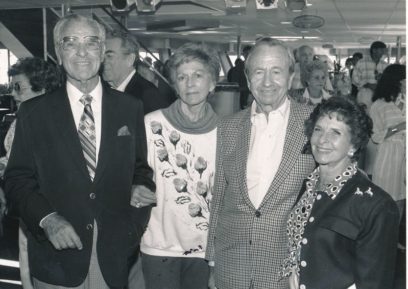 """June 3rd 1990""""Sunset Cruise""""Fondly, Lillian and Alfread LewisIn Photo???: Dr. Alfred Lev??? SullivanLester and Margie"""