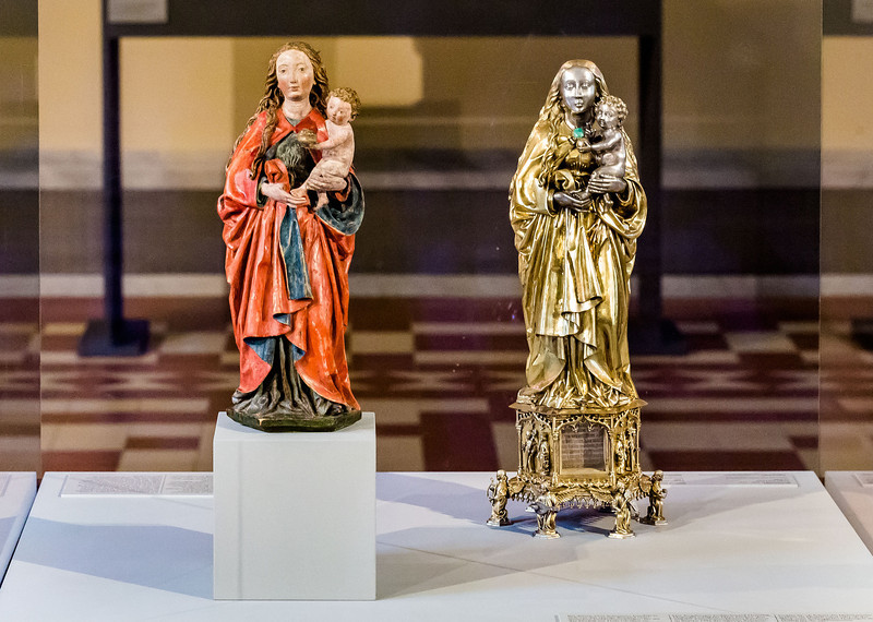 Michel Erhart und Heinrich Hufnagel: Muttergottes