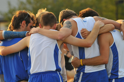 Men's Pre-Race and Start - 2012 Golden Grizzly College XC Invite