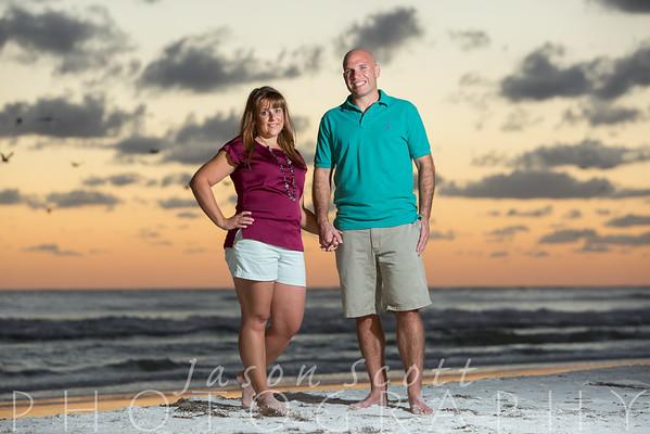 Stephanie and Joe