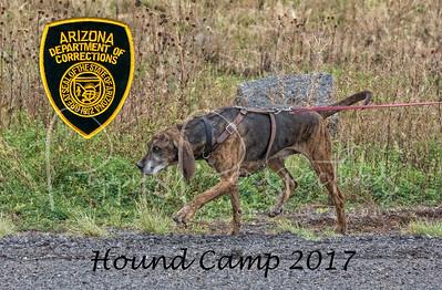 AZ DOC Hound Camp 2017 - Camp Navajo, AZ.