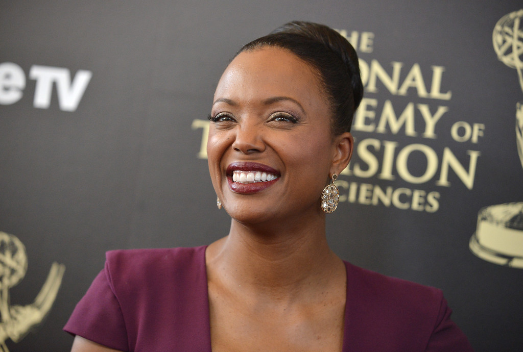 . Aisha Tyler arrives at the 41st annual Daytime Emmy Awards at the Beverly Hilton Hotel on Sunday, June 22, 2014, in Beverly Hills, Calif. (Photo by Richard Shotwell/Invision/AP)