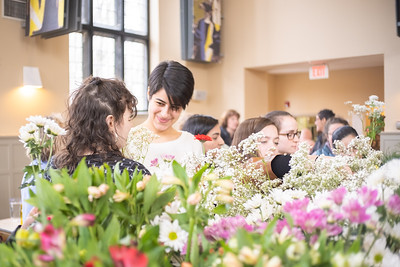 Presidential Pop-Up: Flower Arrangements