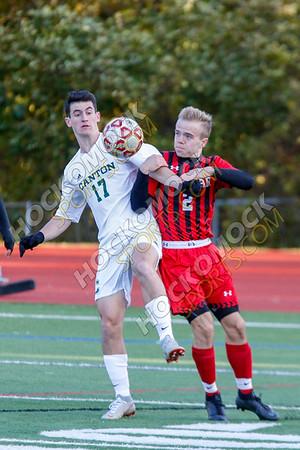 Milford-Canton Boys Soccer - 10-25-18