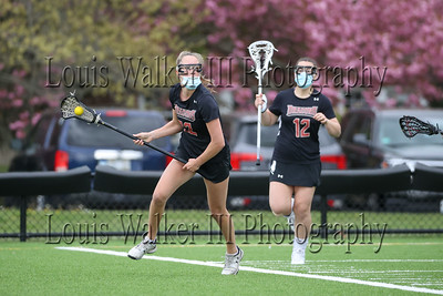 LAX Girls Rivers at St George's on 5/8/21